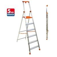 PIU' SU scala in alluminio doppia professionale e domestico