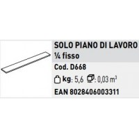 PIANO DI LAVORO FISSO 1/4 DEL PIANO