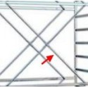 Diagonale campata trabattello MAXI TRIS,TRIS