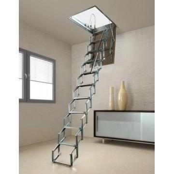 scala retrattile a pantografo aci svezia soffitto