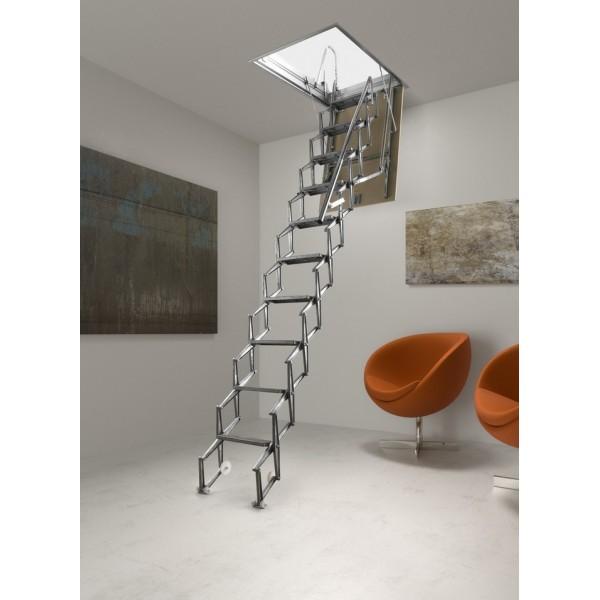scala retrattile soffitta aci alluminio. Black Bedroom Furniture Sets. Home Design Ideas
