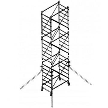 Trabattello in alluminio DOGE 65 H.6.70 mt lavoro