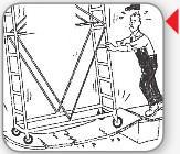Ponteggi su ponti mobili