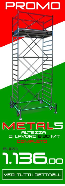 Trabattello professionale Metal 5 Promo