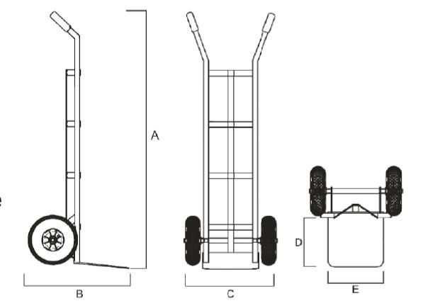 misure carrello