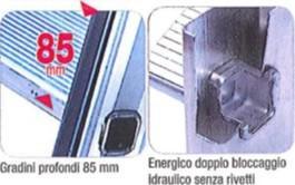 gradini scala soppalchi in alluminio facal