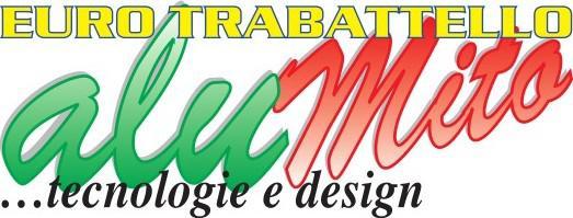 Logo del trabattello in alluminio
