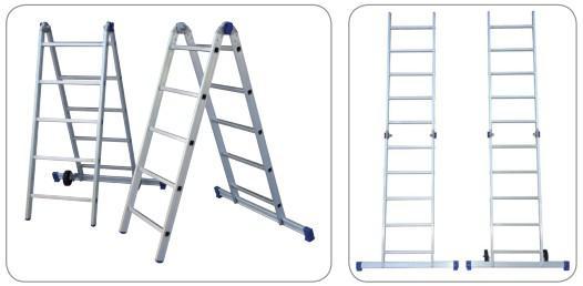 Ponteggio trasformabile a scale