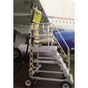 Special stairs for airports and aircraft