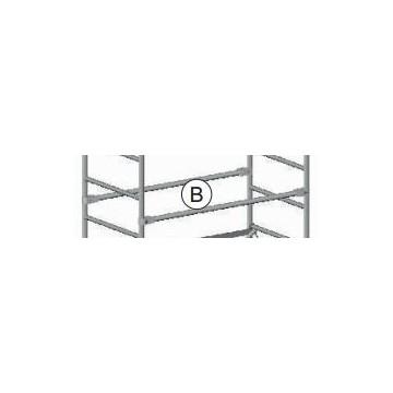 Orizontale parapetto (B) per trab Roller