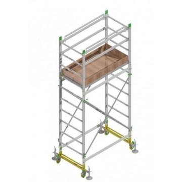 Aluminum scaffold ALUMITO H. 4.40 Mt. Working