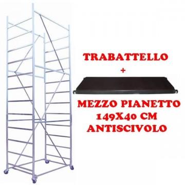 Trabattello maxi tris h. 5.10 Mt. Lavoro