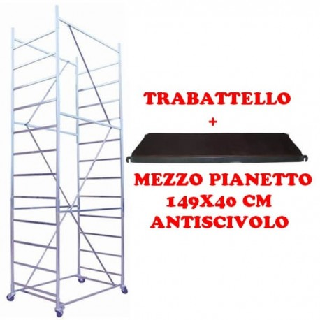 Scaffold Maxi tris h. 5.10 Mt. Working