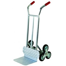 ALUMINUM CASE TROLLEY WITH 3 WHEELS FOR LADDERS