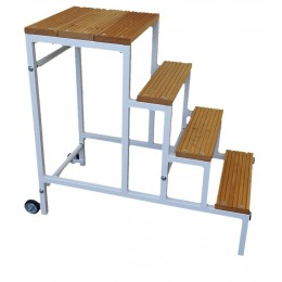 """STOOL 4 STEPS """"MAXI-SGABO"""" WORKING HEIGHT 100 CM."""