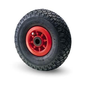 Ruota pneumatica con cerchio in nylon