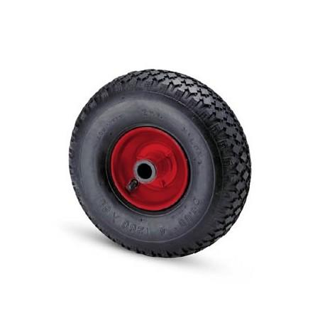Ruota pneumatica con cerchio in metallo