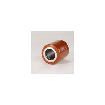 Rullo per transpallet in acciaio e poliuretano Ø 82