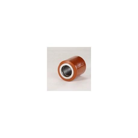 Rullo per transpallet in acciaio e poliuretano Ø 85