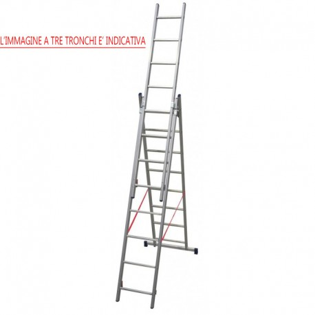 """Aluminum ladder """"STILO"""""""