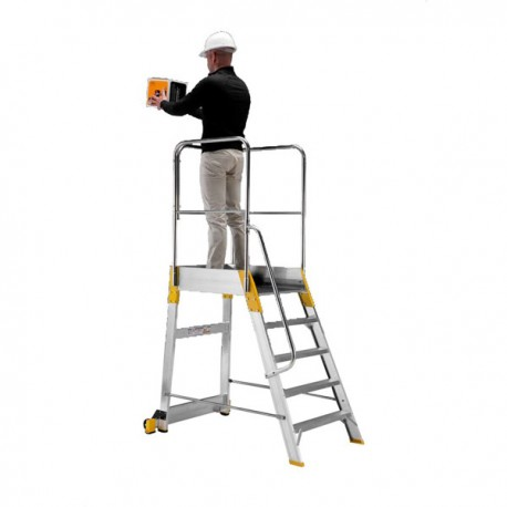 Aluminum bunk ladder Palco Light