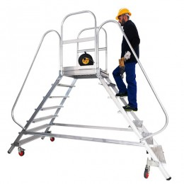 Aluminum bunk ladder Ponte