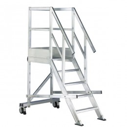 Aluminum bunk ladder