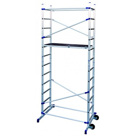Aluminum scaffold Pinna Click
