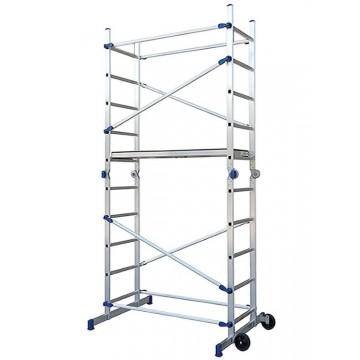 Aluminum scaffold PINNA H. Work 3.78 mt