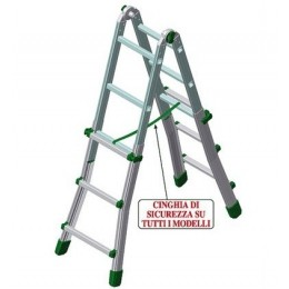 Telescopic aluminum ladder EUROBRIKO 16