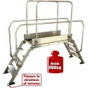 "Aluminum bridge ladder ""DIVA"" 120x53"