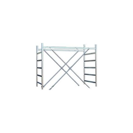 Span Riser for scaffolding METAL 5 from mt. 1,50
