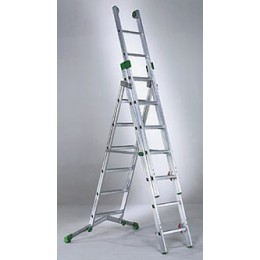 Super extension ladder PRIMA in aluminum