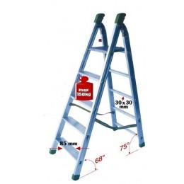 Professional aluminum staircase STRUMENTA