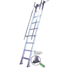 Aluminum mezzanine staircase S15/1