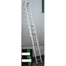 Rail aluminum ladder Roller