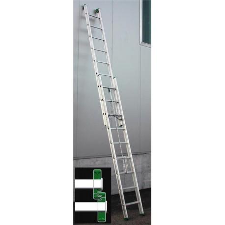 Rail aluminum ladder Roller