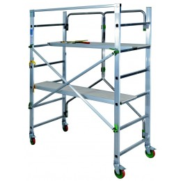 "Folding aluminum scaffold ""PIEGO"""