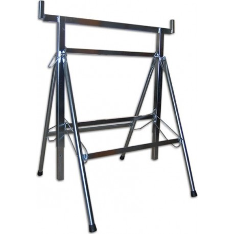 Stand openable galvanized iron