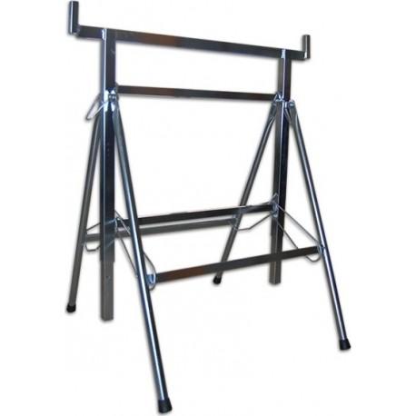 Support en fer galvanisé ouvrable
