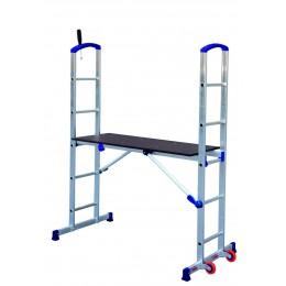 """PENNY"" aluminum scaffold h. 2.90 m"