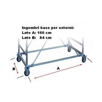 Base for Full scaffolding