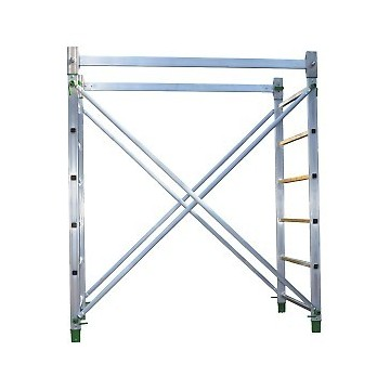 Work height 180 cm for scaffolding. Doge 65 Facal