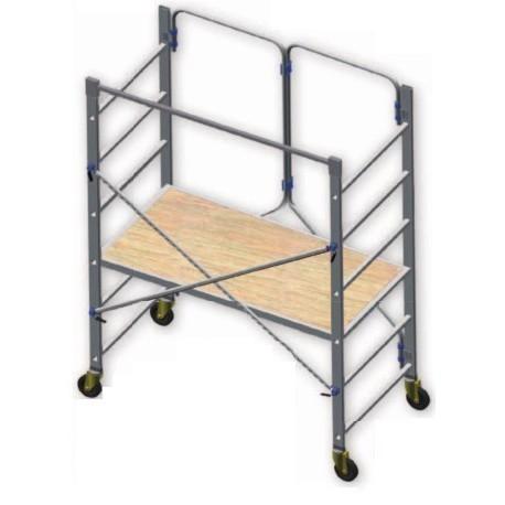 Folding aluminum scaffolding SPECIAL PIEGO