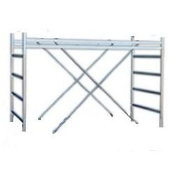Span riser for scaffolding M6 120 cm.