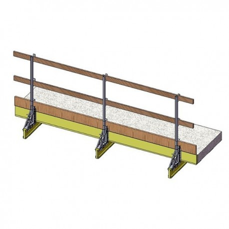 Fall protection parapet MH28