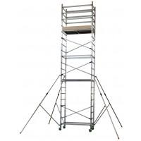 """Aluminum scaffold """"ALTO 620"""" H. work 7 mt. (mod. 1 + 2 + 3)"""