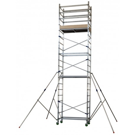 "Aluminum scaffold ""ALTO 620"" H. work 7 mt. (mod. 1 + 2 + 3)"