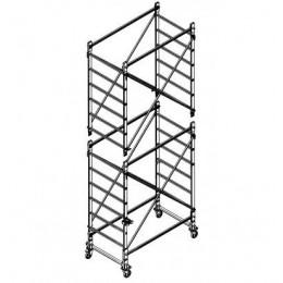 Trabattello in alluminio DOGE 65 H.4.90 mt lavoro