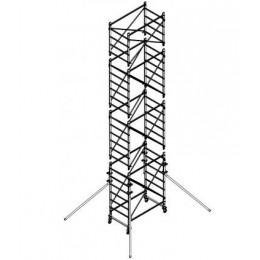 Trabattello in alluminio DOGE 65 H.7.90 mt lavoro